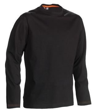 ΒΑΜΒΑΚΕΡΗ ΜΠΛΟΥΖΑ HEROCK NOET T-SHIRT LONG SLEEVES BLACK