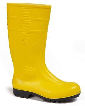 Μπότες ασφαλείας PVC GIASCO MARTE GI S5 κίτρινες