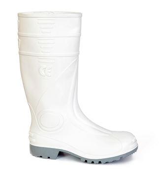 Μπότες ασφαλείας PVC GIASCO GIOVE P S4 ΛΕΥΚΗ