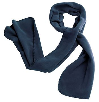 ΚΑΣΚΟΛ FLEECE BAKA SCARF BLUE - HEROCK