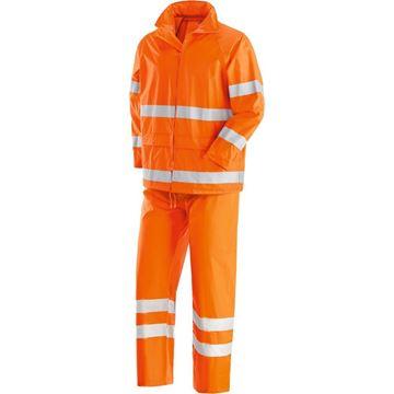 NERI SPA Αδιάβροχο κοστούμι NEW OSLO ORANGE