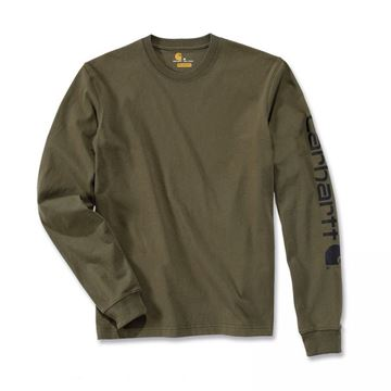 LOGO LONG SLEEVE T-SHIRT ARG - CARHARTT