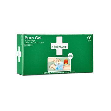 Επίθεμα με τζελ για εγκαύματα Cederroth Burn Gel Dressing 901900
