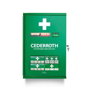 Σταθμός Πρώτων Βοηθειών Cederroth First Aid Cabinet Double Door