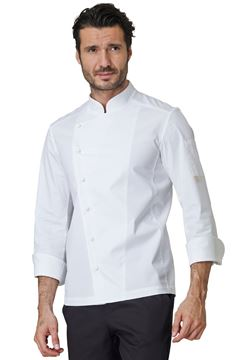 ΣΑΚΑΚΙ ΣΕΦ SIGGI HORECA GABRIEL CHEF JACKET WHITE