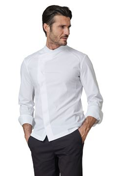 ΣΑΚΑΚΙ ΣΕΦ SIGGI HORECA THOMAS CHEF JACKET WHITE