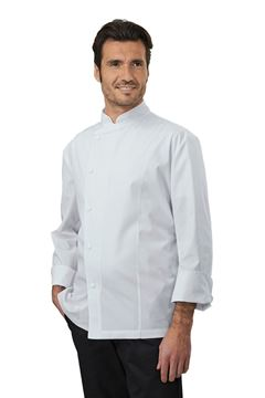 ΣΑΚΑΚΙ ΣΕΦ SIGGI HORECA ADAM CHEF JACKET WHITE