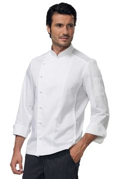ΣΑΚΑΚΙ ΣΕΦ SIGGI HORECA STEWART CHEF JACKET WHITE