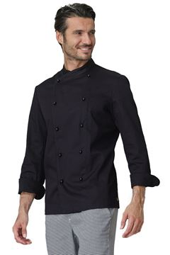ΣΑΚΑΚΙ ΣΕΦ SIGGI HORECA GIACOMO CHEF JACKET BLACK