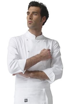 ΣΑΚΑΚΙ ΣΕΦ SIGGI HORECA ARTUR CHEF JACKET WHITE