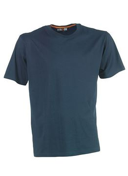 ΒΑΜΒΑΚΕΡΟ ΜΠΛΟΥΖΑΚΙ  HEROCK ARGO T-SHIRT SHORT SLEEVES - NAVY