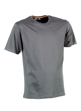 ΒΑΜΒΑΚΕΡΟ ΜΠΛΟΥΖΑΚΙ HEROCK ARGO T-SHIRT SHORT SLEEVES - GREY