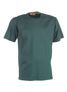 ΒΑΜΒΑΚΕΡΟ ΜΠΛΟΥΖΑΚΙ HEROCK ARGO SHORT SLEEVES T-SHIRT - GREEN