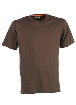 ΒΑΜΒΑΚΕΡΟ ΜΠΛΟΥΖΑΚΙ HEROCK ARGO T-SHIRT SHORT SLEEVES BROWN