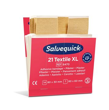 Salvequick Extra Large Textile Plaster 6470