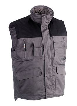 ΓΙΛΕΚΟ ΕΡΓΑΣΙΑΣ HEROCK DONAR BODY WARMER GREY/BLACK