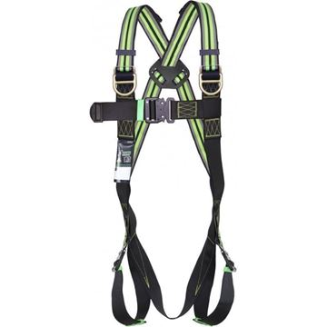 Ζώνη Ασφαλείας KRATOS SAFETY BODY HARNESS FA1011101 L-2XL