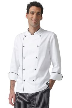 ΣΑΚΑΚΙ ΣΕΦ SIGGI HORECA MARCO CHEF JACKET WHITE