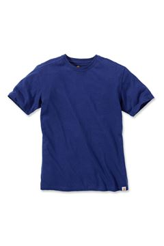 ΜΠΛΟΥΖΑΚΙ CARHARTT T-SHIRT MADDOCK SHORT SLEEVE INK BLUE HEATHER