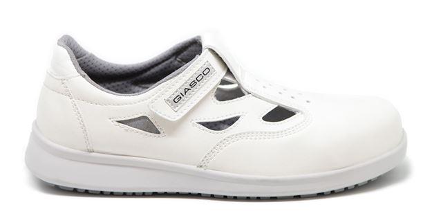 GIASCO BUDAPEST S1P παπούτσια ασφαλείας λευκά
