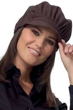 UNISEX ΣΚΟΥΦΟΣ - ΚΑΠΕΛΟ SIGGI HORECA HOLLY CAP BROWN