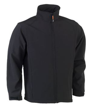 SOFTSHELL HEROCK JULIUS JACKET BLACK
