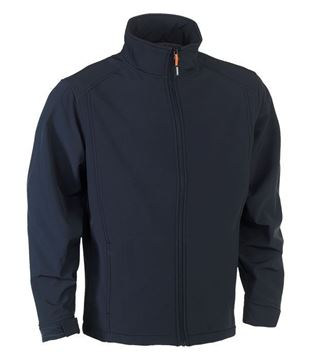 SOFTSHELL HEROCK JULIUS JACKET NAVY