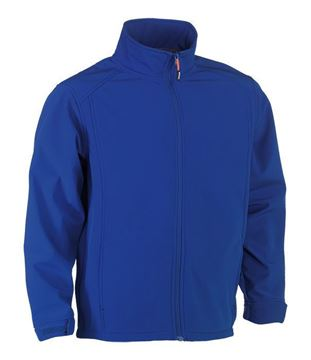 SOFTSHELL HEROCK JULIUS JACKET ROYAL BLUE