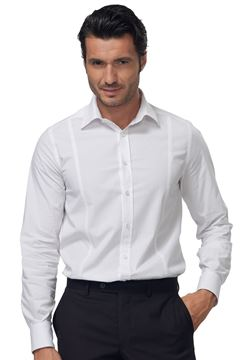 ΠΟΥΚΑΜΙΣΟ ΑΝΔΡΙΚΟ SIGGI HORECA JAMES MEN SHIRT WHITE