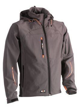 SOFTSHELL HEROCK POSEIDON JACKET GREY