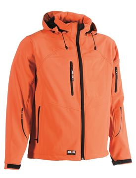 SOFTSHELL HEROCK POSEIDON JACKET ORANGE