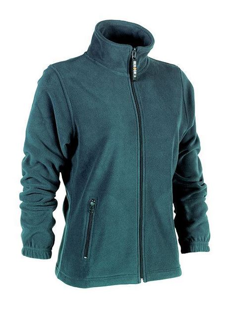FLEECE ΖΑΚΕΤΑ ΓΥΝΑΙΚΕΙΑ SHEROCK DEVA JACKET GREEN