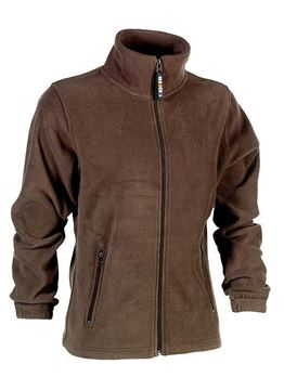 FLEECE ΖΑΚΕΤΑ ΓΥΝΑΙΚΕΙΑ SHEROCK DEVA JACKET BROWN