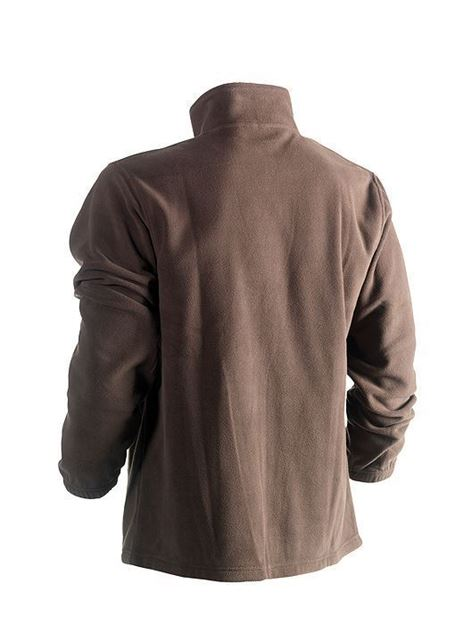 FLEECE ΖΑΚΕΤΑ HEROCK DARIUS JACKET BROWN