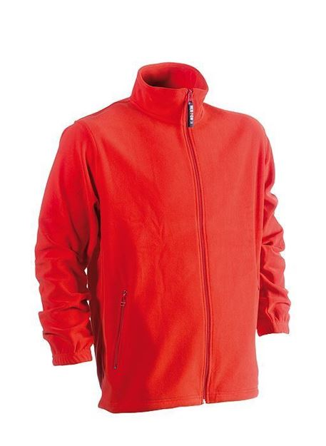 FLEECE ΖΑΚΕΤΑ HEROCK DARIUS JACKET RED
