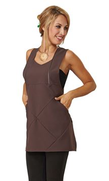 ΓΥΝΑΙΚΕΙΑ ΡΟΜΠΑ SIGGI BEAUTY MARYLINE WOMAN PINAFORE BROWN
