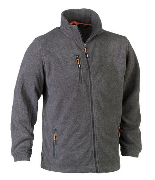 FLEECE ΖΑΚΕΤΑ HEROCK ILIAS JACKET GREY