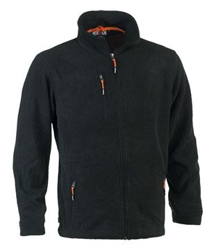 FLEECE ΖΑΚΕΤΑ HEROCK ILIAS JACKET ANTHRACITE