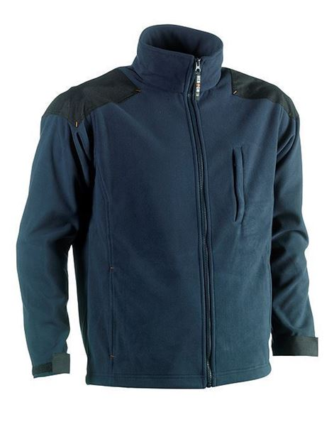FLEECE ΜΠΟΥΦΑΝ - ΖΑΚΕΤΑ HEROCK MERCURY JACKET NAVY