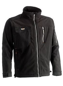 FLEECE ΜΠΟΥΦΑΝ HEROCK ZEUS FLEECE JACKET BLACK