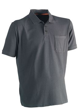 T-SHIRT ΜΕ ΓΙΑΚΑ HEROCK LEO POLO SHORT SLEEVES GREY