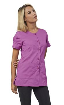 ΓΥΝΑΙΚΕΙΑ ΜΠΛΟΥΖΑ SIGGI HORECA FLAVIA LADIES TUNIC PURPLE