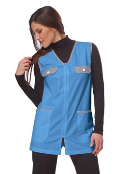 ΓΥΝΑΙΚΕΙΑ ΡΟΜΠΑ SIGGI HORECA MELANY LADIES PINAFORE BLUE
