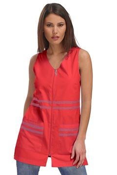 ΓΥΝΑΙΚΕΙΑ ΡΟΜΠΑ SIGGI HORECA HANA LADIES PINAFORE RED