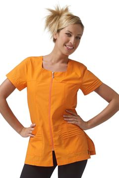 ΓΥΝΑΙΚΕΙΑ ΜΠΛΟΥΖΑ SIGGI HORECA VALERIA LADIES TUNIC ORANGE