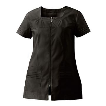 ΓΥΝΑΙΚΕΙΑ ΜΠΛΟΥΖΑ SIGGI HORECA VALERIA LADIES TUNIC BLACK