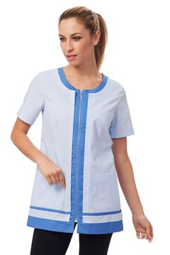 ΓΥΝΑΙΚΕΙΑ ΜΠΛΟΥΖΑ SIGGI HORECA LYDIA LADIES TUNIC BLUE