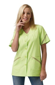 ΓΥΝΑΙΚΕΙΑ ΜΠΛΟΥΖΑ SIGGI HORECA GARDENIA LADIES TUNIC GREEN