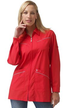 ΓΥΝΑΙΚΕΙΑ ΡΟΜΠΑ SIGGI HORECA SANDY LADIES TUNIC RED