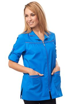 ΓΥΝΑΙΚΕΙΑ ΡΟΜΠΑ SIGGI HORECA ELITA LADIES TUNIC BLUE